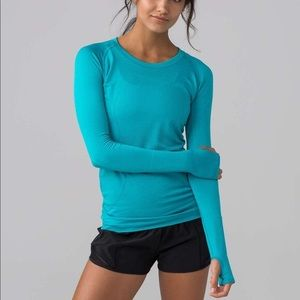 Lululemon Long Sleeve Workout Shirt